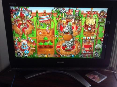 スマホゲームもテレビでプレイできる!