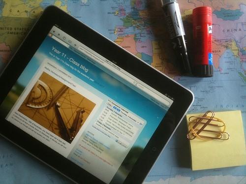 iPadの地図