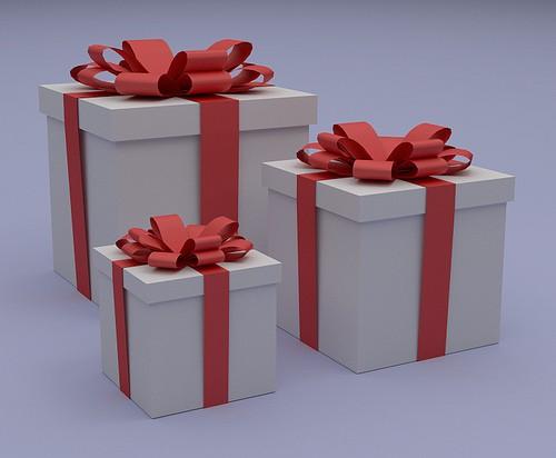 タブレットをプレゼント