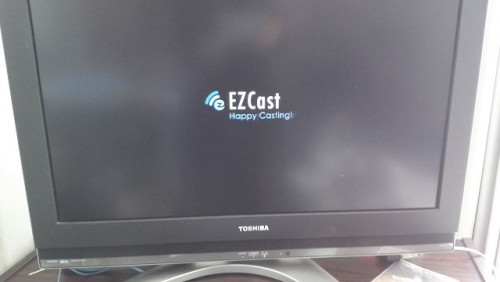 EZcastの起動画面