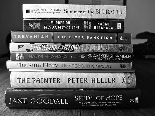 本がたくさん