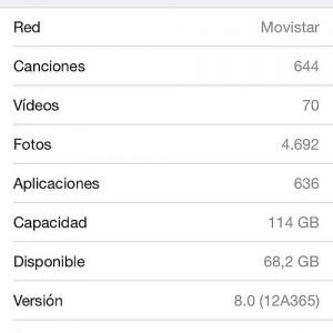 容量128GBの例